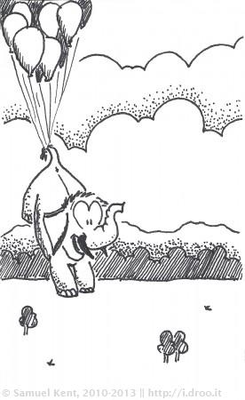 Up, up, Elephant!