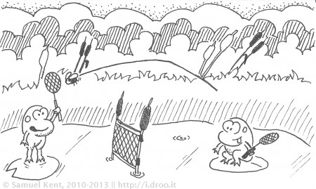Swamp Tennis