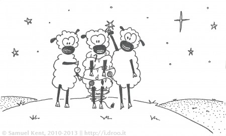 Meanwhile, While Shepherds Watched Their Flocks