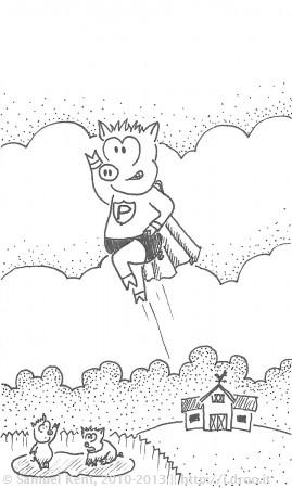 It's Super Pig!