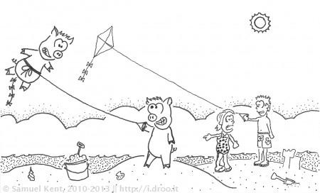 Kite Pigs