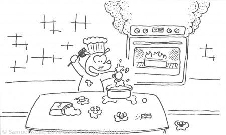 Messy the Baker