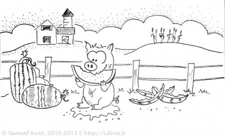 The Watermelon Hog