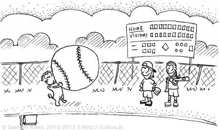 I'll bring the ball