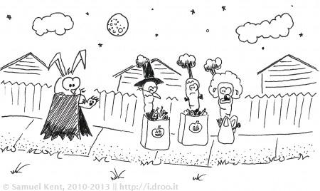 A Veggie Halloween