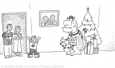 Dinosaur for Christmas