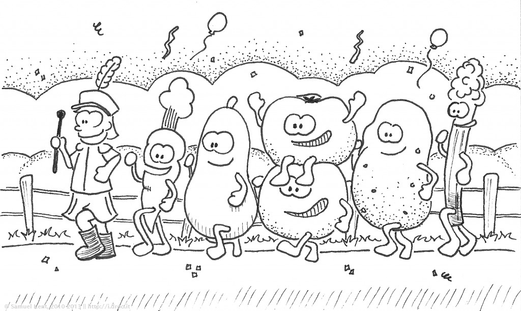 Vegetable Parade