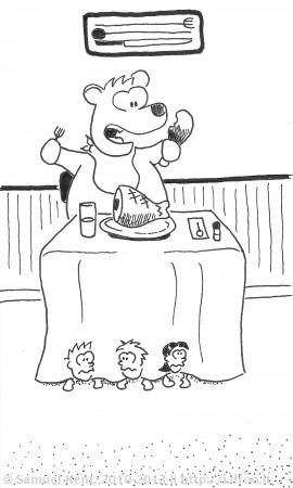 A Bear's Feast