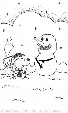 Stinkin' Snowman