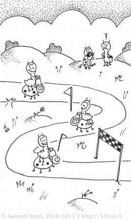 The Ladybug Race