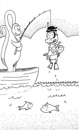 Dino Fishing