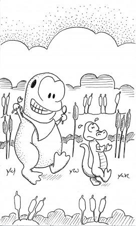 Froggie and Gator