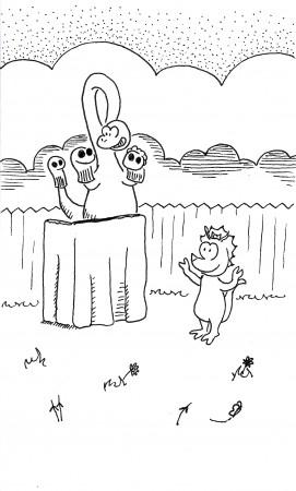 Dino Puppets