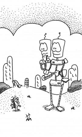 Robots vs. Bug
