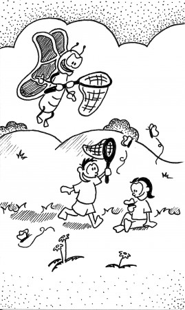 Bug Catching Kids