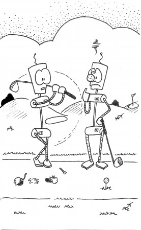 Robo Golfing