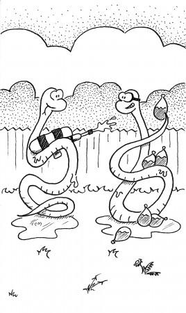 Splishy Splashy Snakes