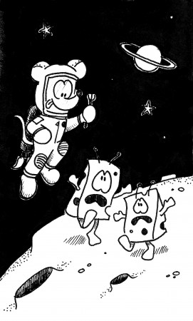 Space Cheeses