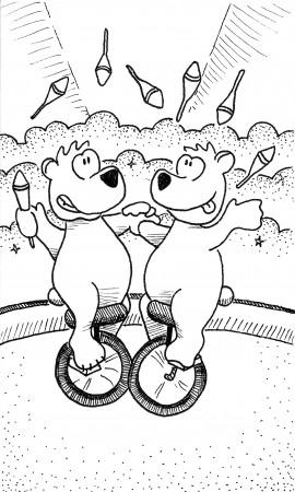 Bear Jugglers