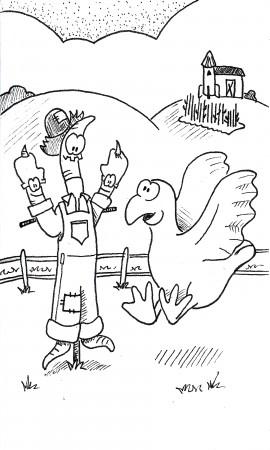 Wormy Scarecrow