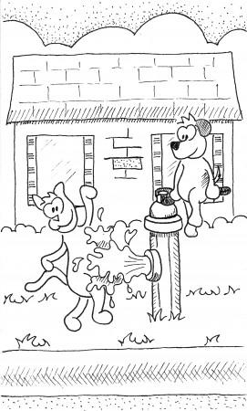 Kitty vs. Hydrant