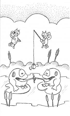 Frog Fishing