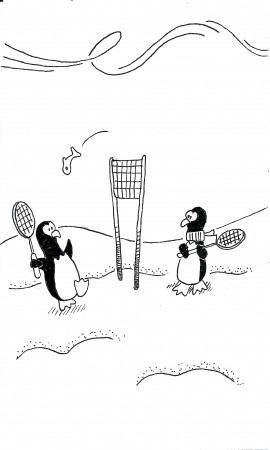 Fish Tennis
