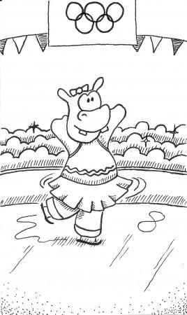 Hippo on the Ice