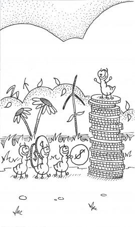 Ants with Money