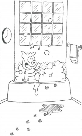A Piggy Bath