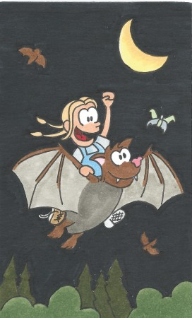 Ride 'em Batgirl