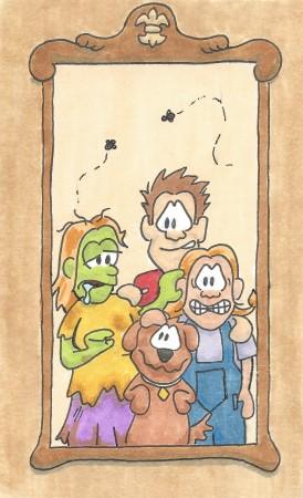 Undead Family Portrait