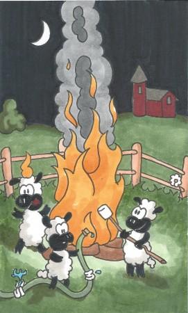 Roasted Lambs